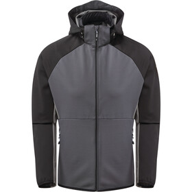 Dare 2b Endure Chaqueta Softshell Hombre, ebony grey/black/aluminium grey trail